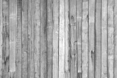 Old dark wood plank texture background. black and white