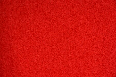 Red mat texture background Imagens