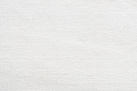 Białe tło tekstury tkaniny