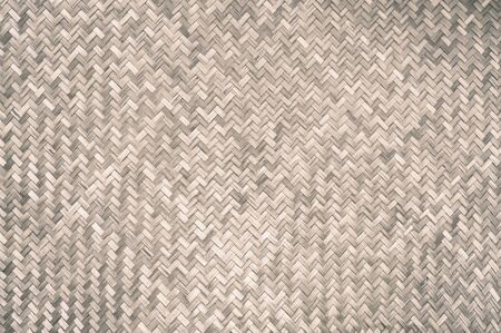 Traditional handcraft bamboo weave texture wicker surface for furniture material