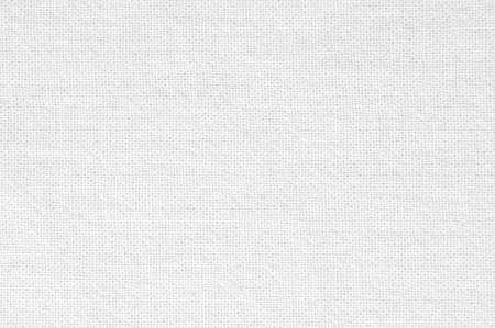 White fabric canvas texture background Archivio Fotografico