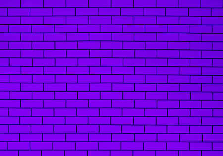 ceramic brick tile wall purple color tone