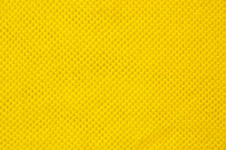 Yellow fabric background  canvas textile as wallpaper