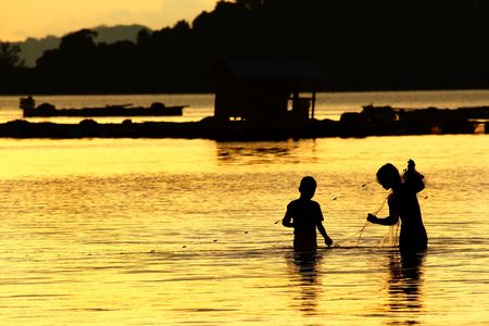 thailand fisherman photo