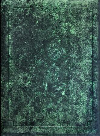 scrapbook cover: textura de viejos cubierta de libro  Foto de archivo