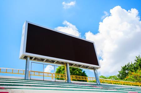 score board: Stadium Score board without text