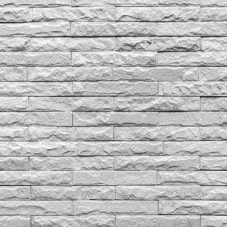 monotone: square of Monotone grunge brick wall background Stock Photo
