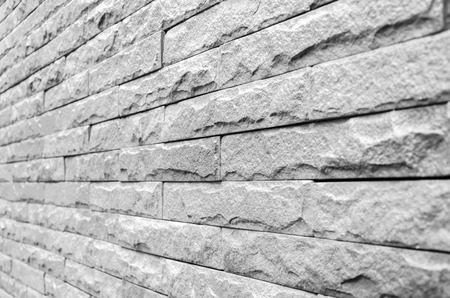 monotone: Monotone grunge brick wall background