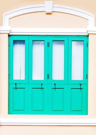 green door: Antique Green Door
