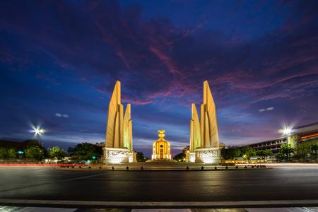 democracy Monument: The Democracy Monument (Thai : Anusawari Prachathipatai)