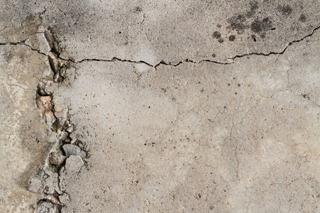concrete: cracked concrete wall texture background Stock Photo