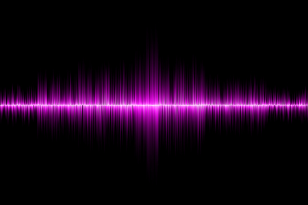 electronic background: pink sound wave background