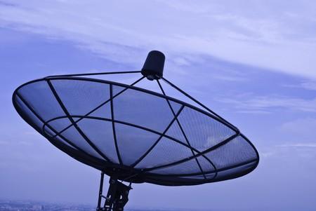 Satellite receiver photo