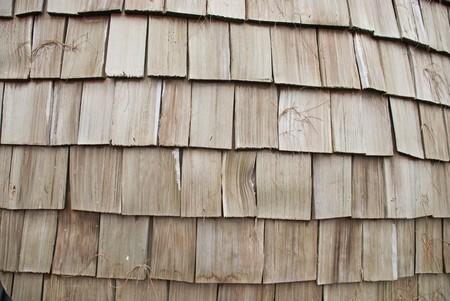 Techo de madera de cedro  Foto de archivo - 7551263