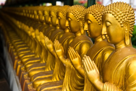 View of buddha statue in Thailand Stock Photo - 7911299