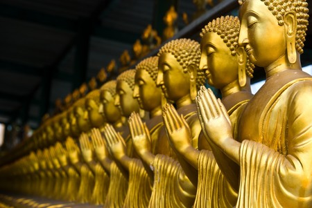 View of buddha statue in Thailand Stock Photo - 7911298