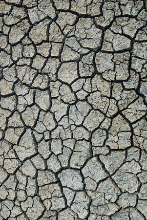 Trockene und rissige Erde Hintergrund