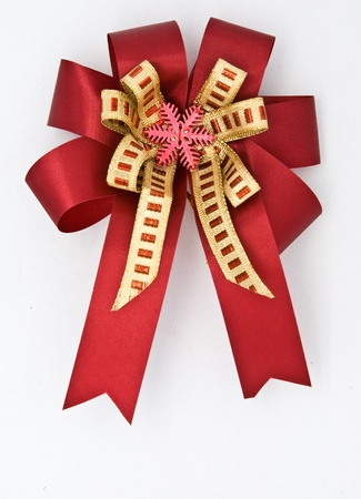 ribbon bow for gift box Stock Photo - 8521628