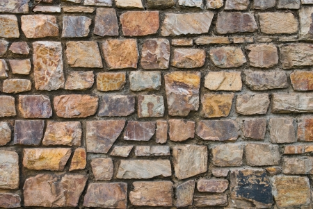 Pattern of old stone Wall Surfaced Stock Photo - 8561448