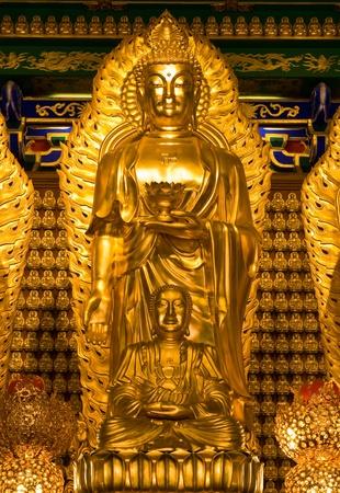 nonthaburi: buddha statue in Wat-Leng-Noei-Yi2 at Bang-Bua-Thong, Nonthaburi, Thailand