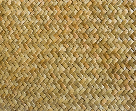 a straw: handcraft weave texture natural wicker