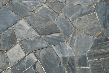 pattern of decorate Slate Stone wall Stock Photo - 9038775