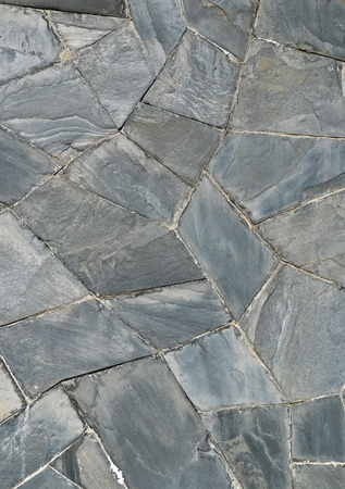 architectural firm: pattern of decorate Slate Stone wall Stock Photo