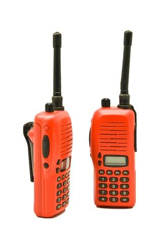 Red radio communication Stock Photo - 9101859