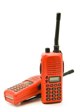 Red radio communication Stock Photo - 9101860