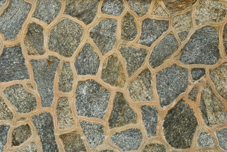 concrete surface finishing: Background of stone wall texture