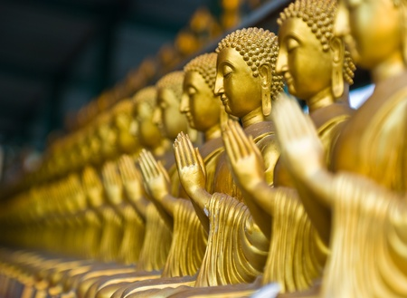 View of buddha statue in Thailand Stock Photo - 9450925