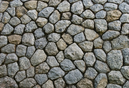 damaged cement: stone texture of  wall decoration Stock Photo