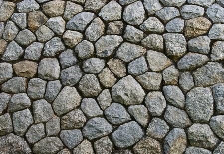 piso piedra: textura de piedra de decoraci�n de paredes Foto de archivo