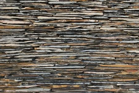 pattern of decorate Slate Stone wall Stock Photo - 9765938