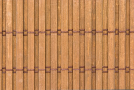 close up of bamboo curtain pattern material Stock Photo - 9875163