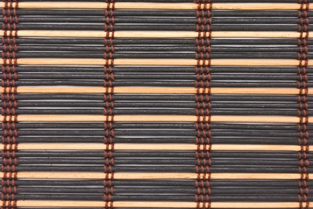 close up of bamboo curtain pattern material Stock Photo - 10252627