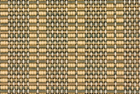 close up of bamboo curtain pattern material Stock Photo - 10252666