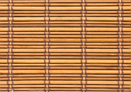 close up of bamboo curtain pattern material Stock Photo - 10252615