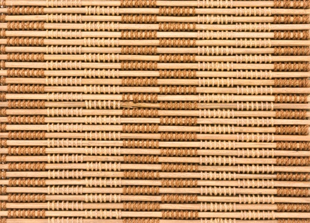 close up of bamboo curtain pattern material Stock Photo - 10252655