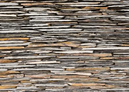 pattern of decorative slate stone wall surface Stock Photo - 10532790