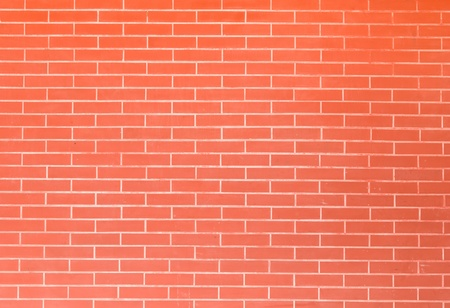 red brick wall texture in horizontal view Stock Photo - 10891203