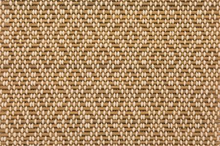 woven surface: cerca del material de bamb� patr�n de cortina Foto de archivo