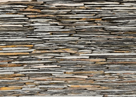 architectural firm: pattern of decorative slate stone wall surface