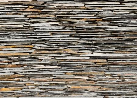 pattern of decorative slate stone wall surface Stock Photo - 10993817