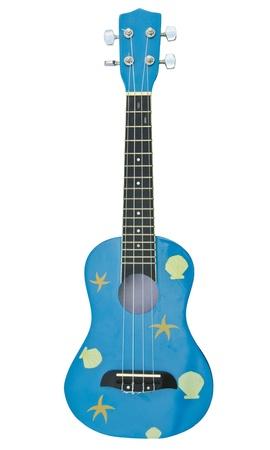 hawaiian traditional instrument ukulele guitar on white background Stock Photo - 10993785