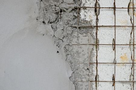 concreto: Tecnolog�a de muros de hormig�n armado dentro de la espuma de poliestireno