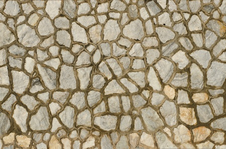 Background of decorate granite stone wall surface Stock Photo - 11689710