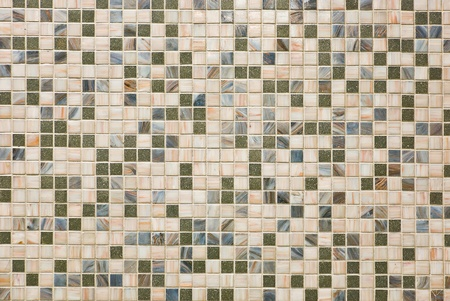 pattern of Mosaic on a decorate wall photo