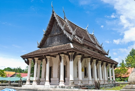 Watyangngam old temple at Phatthalung, Thailand photo