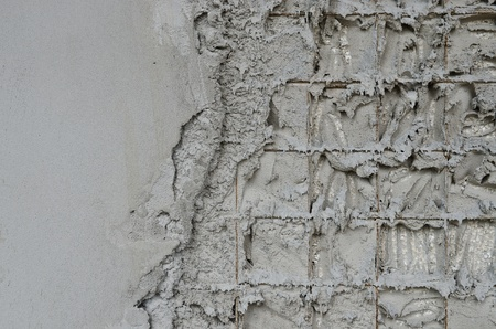 squalid: Technology reinforced concrete walls within the styrofoam Editorial